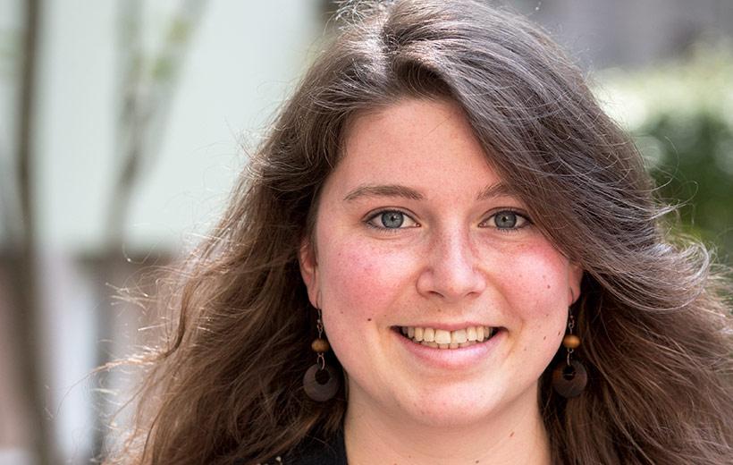 Paula Tiggemann, Vorsitzende der Evangelischen Jugend in Bayern (EJB)