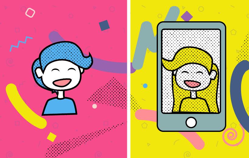 Internet vs Realität Header