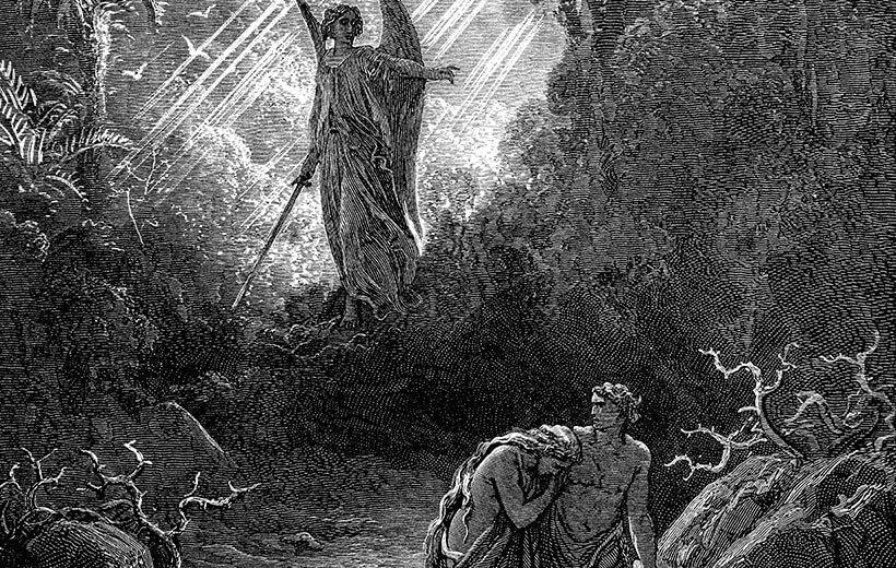 Die Vertreibung aus dem Paradies - alt