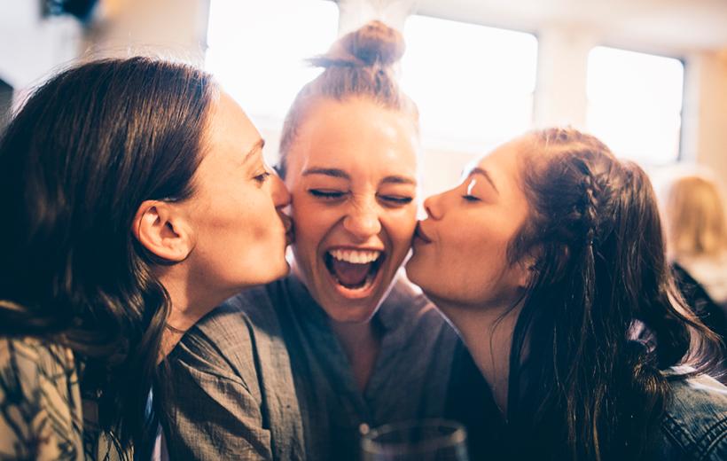 Freundschaften machen glücklich