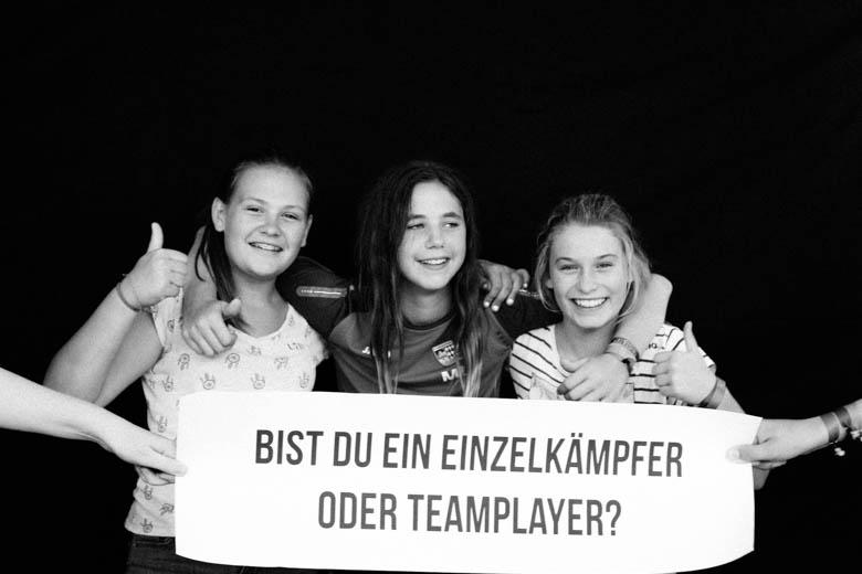 Bist du ein Einzelkämpfer oder Teamplayer?
