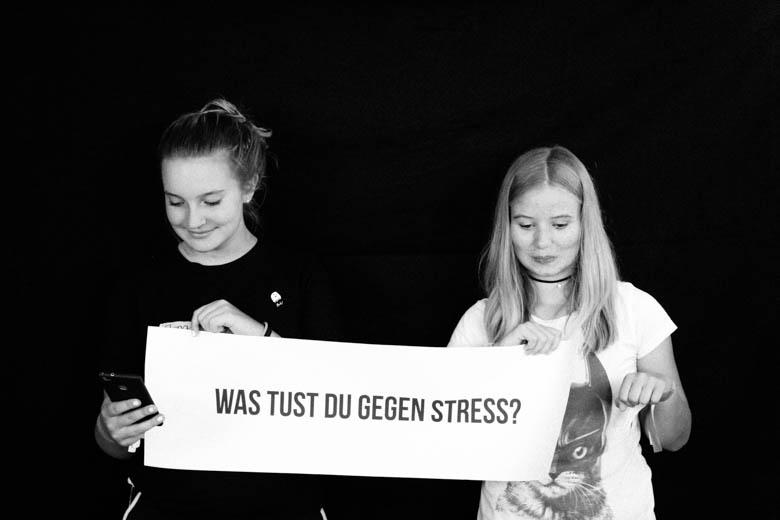 Was tust du gegen Stress?