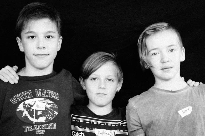Interview mit Leon, Marc und Niklas