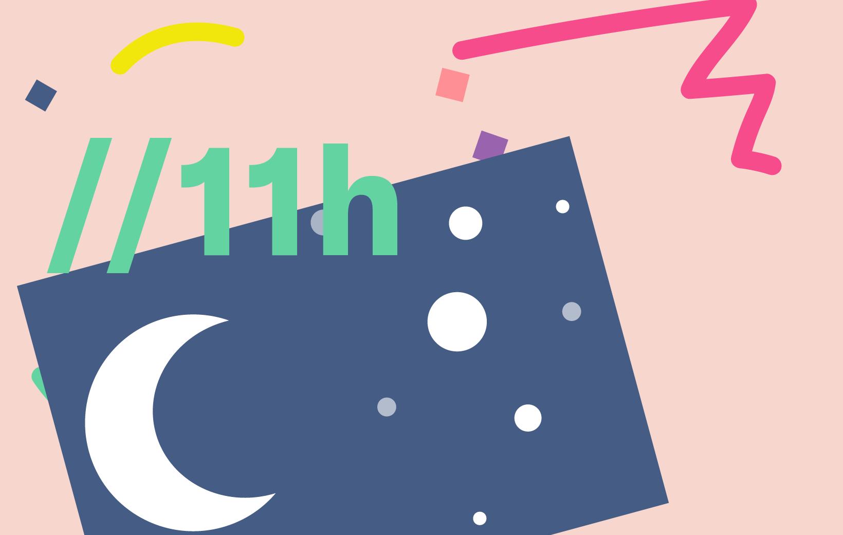 Perfekter Samstag: Schlafen