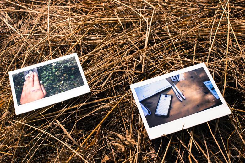 Polaroids mit Smartphones