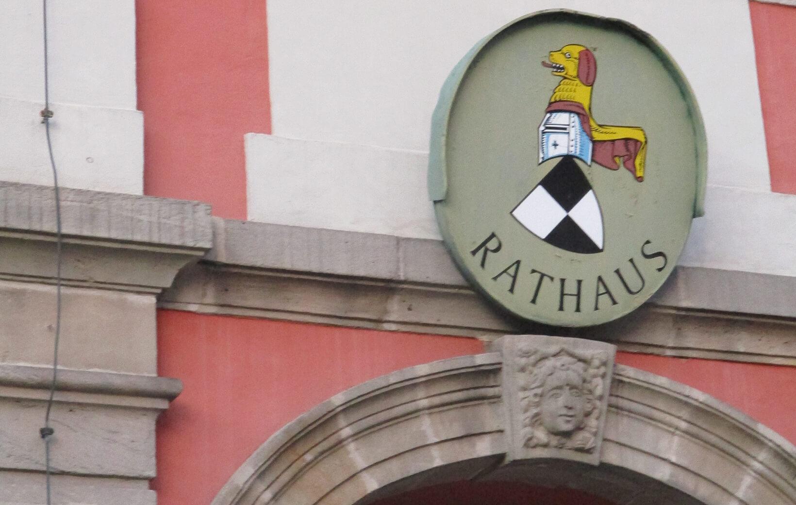 Rathauseingang