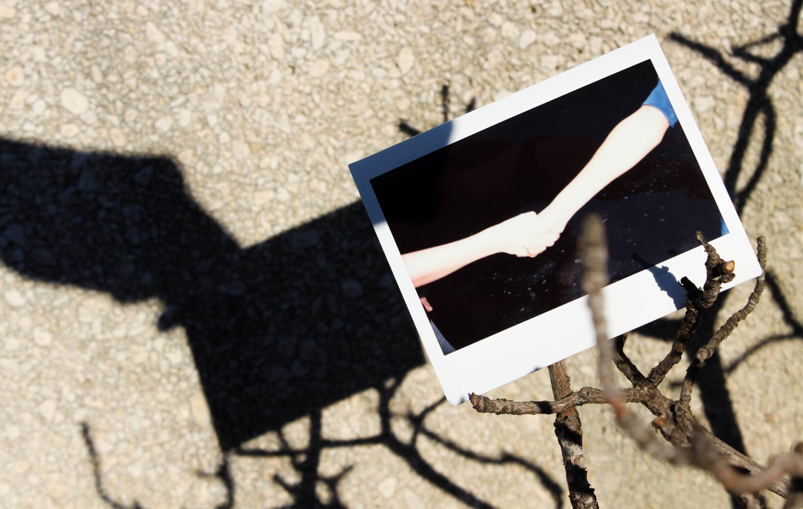 Polaroid: Händschütteln