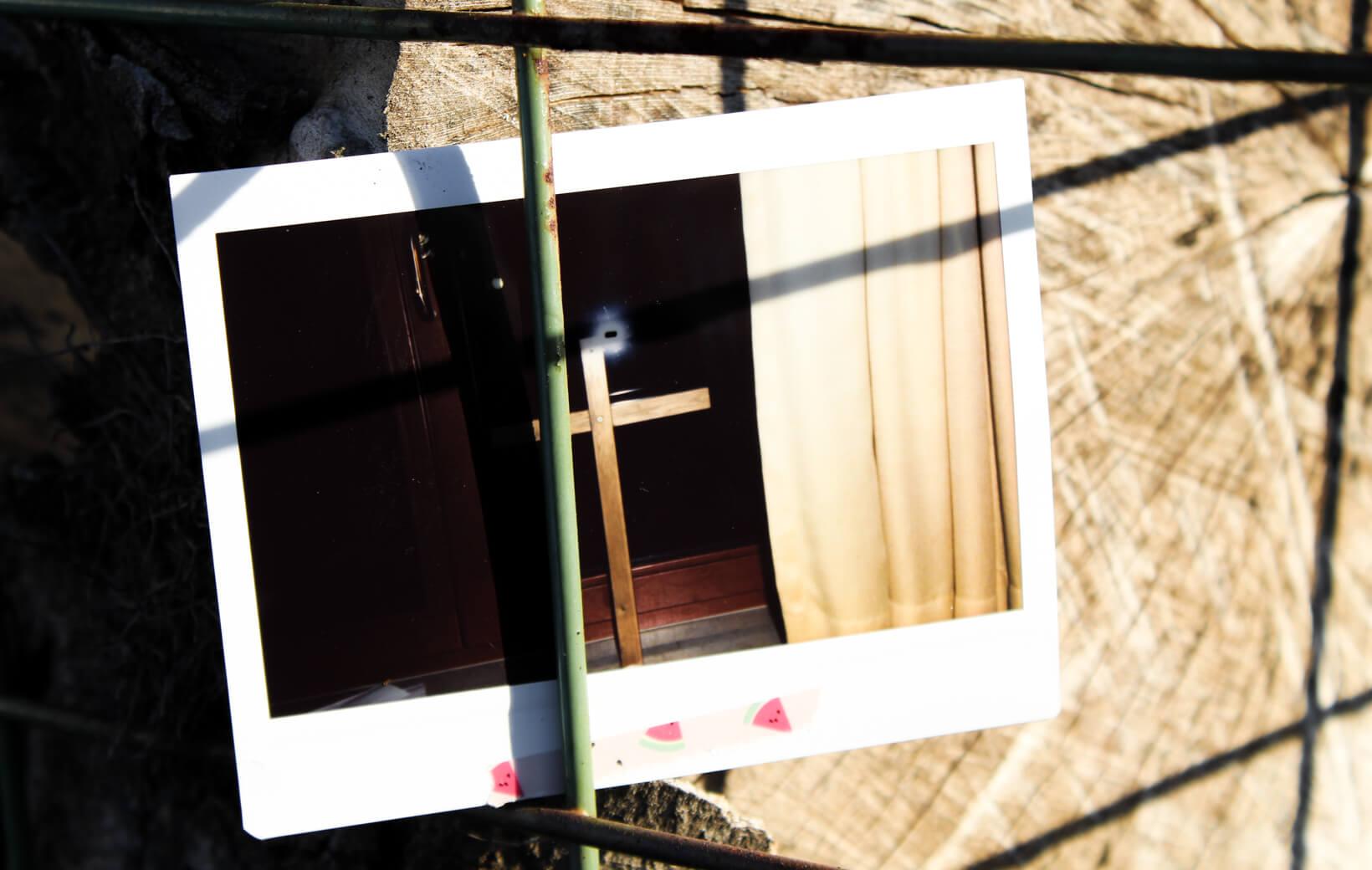 Polaroid: Kreuz
